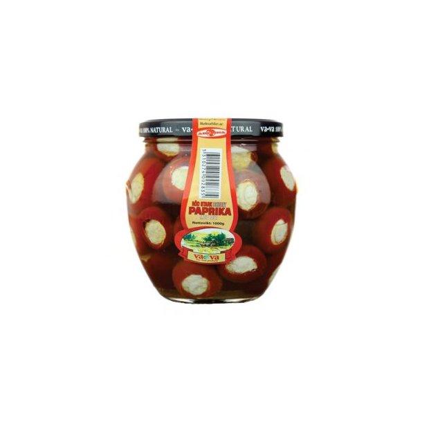 Paprika cherry rød med ost 100% Naturell, 550g