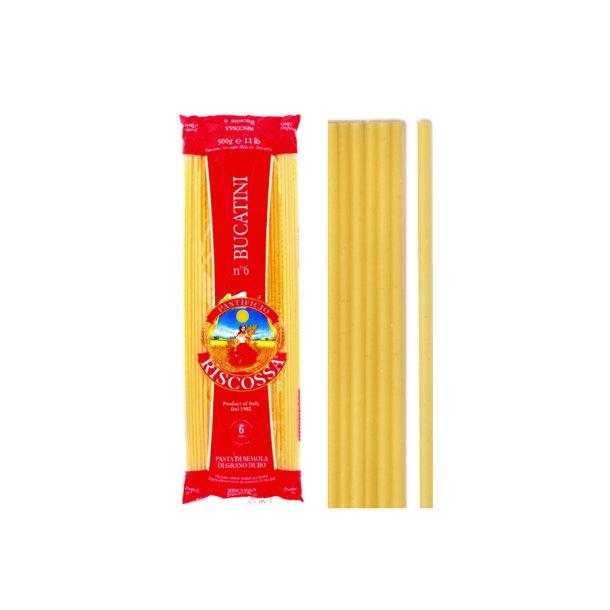 Riscossa pasta - Bucatini, 500g