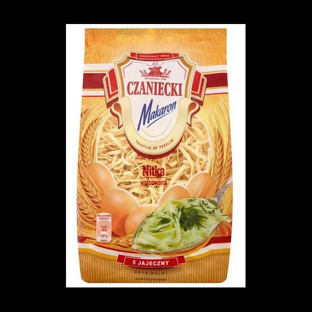 "Pasta med egg ""Nitka Walcowana"" Czaniecki, 250g"